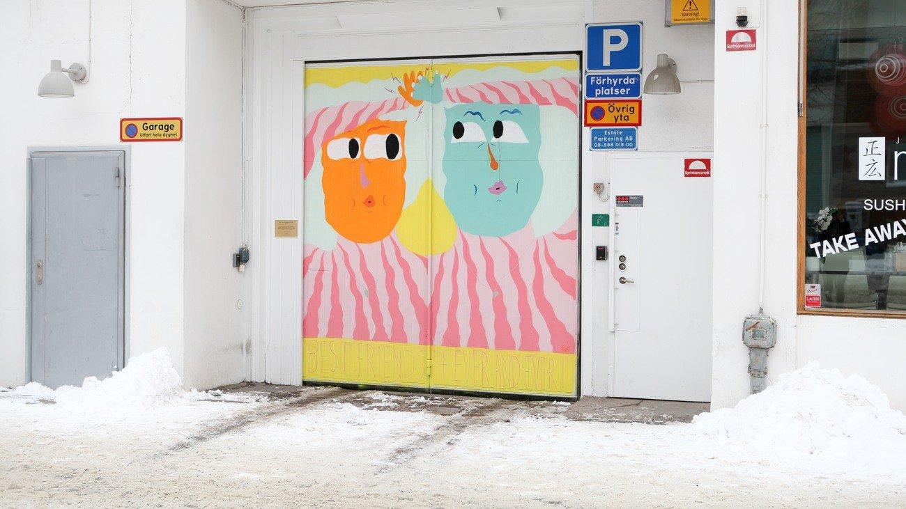 """""""Best friends for ever and ever"""" av Emillie Mottet, Lindhagensgatan 126"""