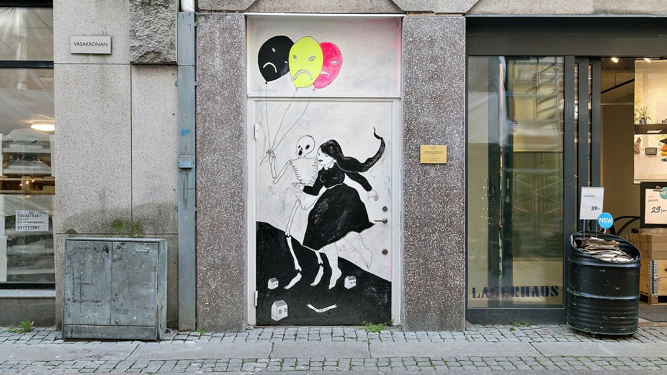"""""""En dag till"""" Linda Spåman, Vallgatan 16"""