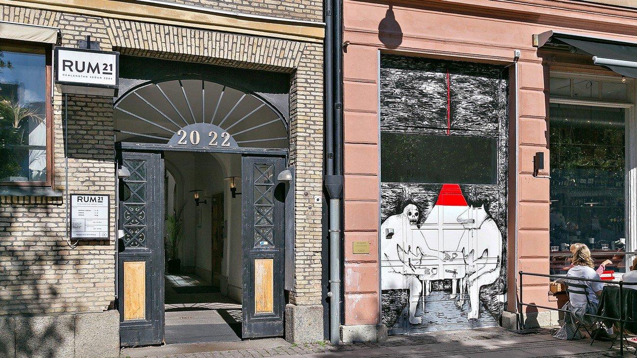 """""""I väntan på icebreakern"""" Ellen Alström, Kyrkogatan 20-22"""