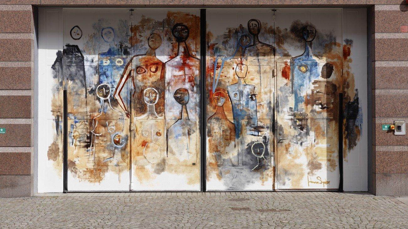 """Indecision"" Johanna Sjödin, Davidshallsgatan 26"