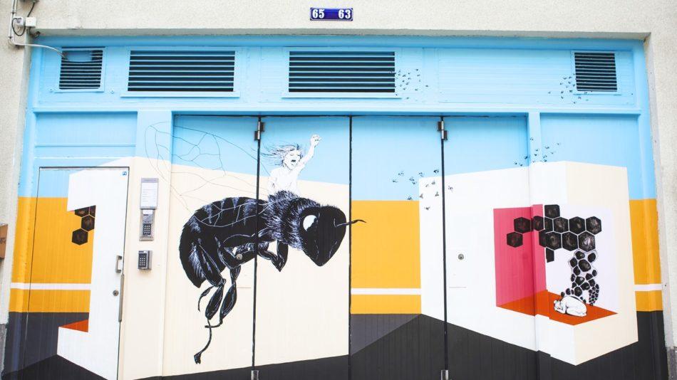 """""""Queen Bee"""" Mimmi Andersson & Merete Lassen, Kungsgatan 65"""