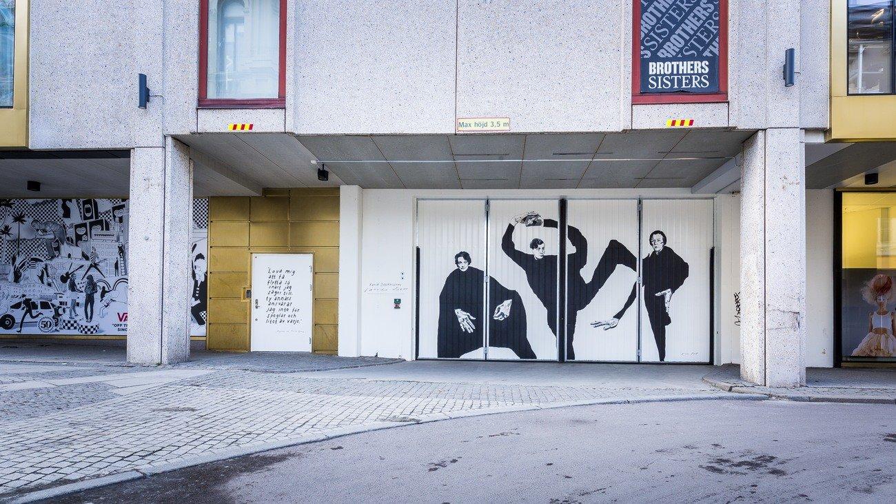 """""""Sårade divor"""" Maria Pohl, Östra larmgatan 11"""