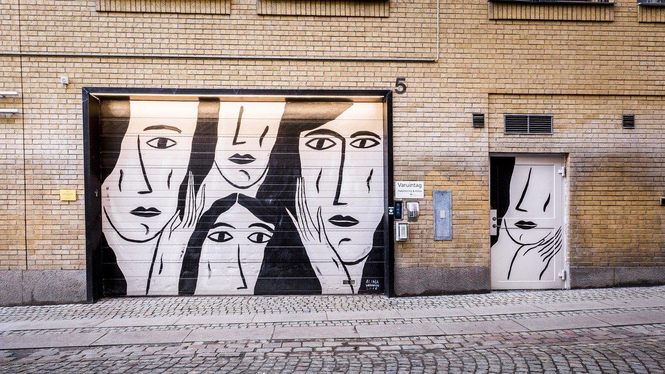 """""""Stand still"""" Alina Vergnano, Kyrkogatan 5"""