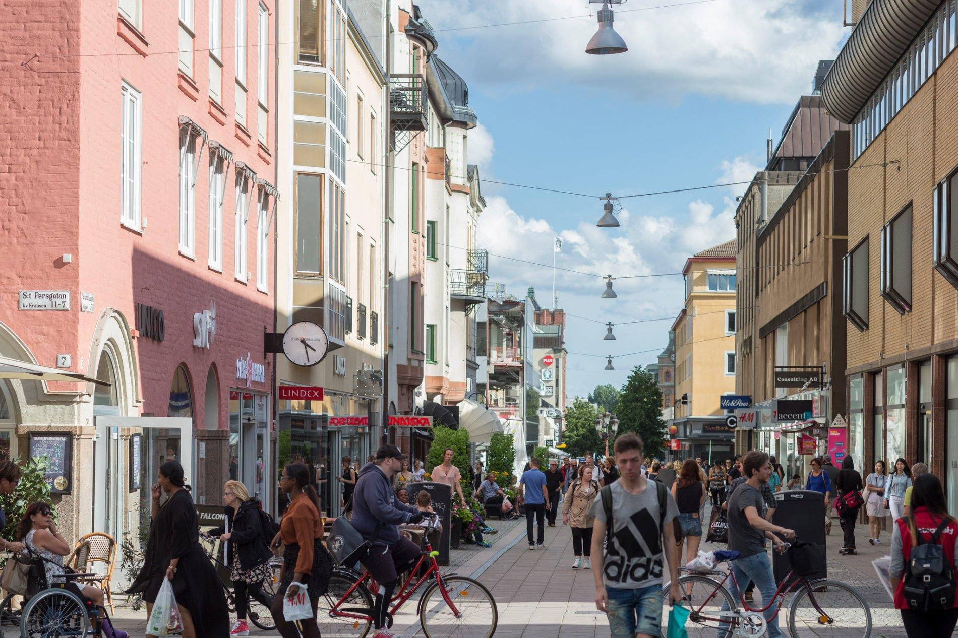 Uppsala huvudgata