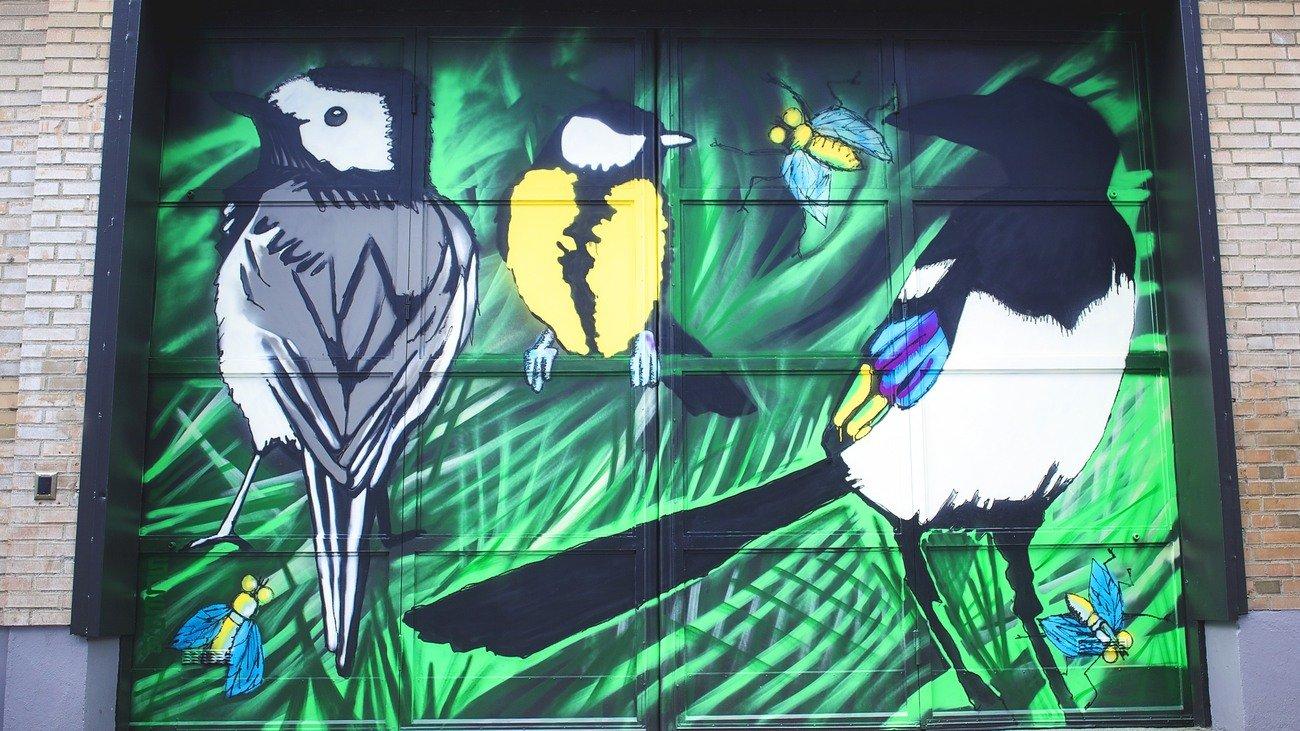 """""""Urban jungle"""" S Camilla E Boström, Vallgatan"""