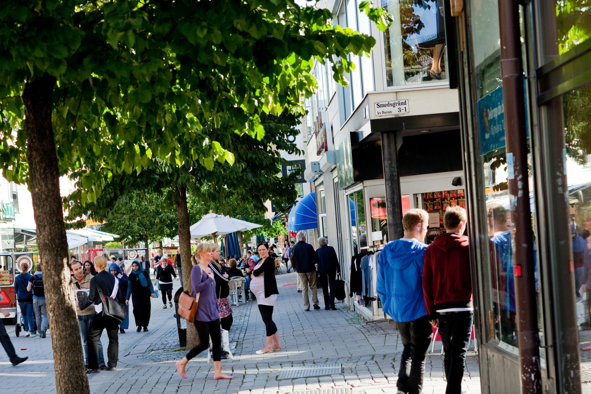 Shoppingstråk Uppsala