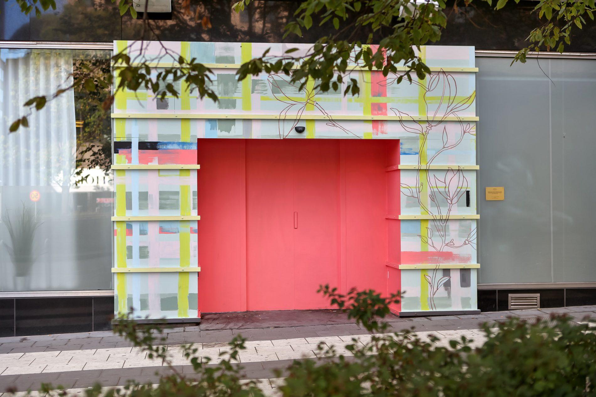 """Sideways"" Frida Oliv & Jennie Sundin, Sveavägen 5-7"
