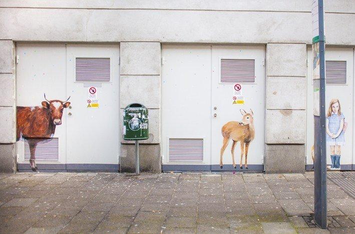 Verk från #ArtMadeThis Malmö