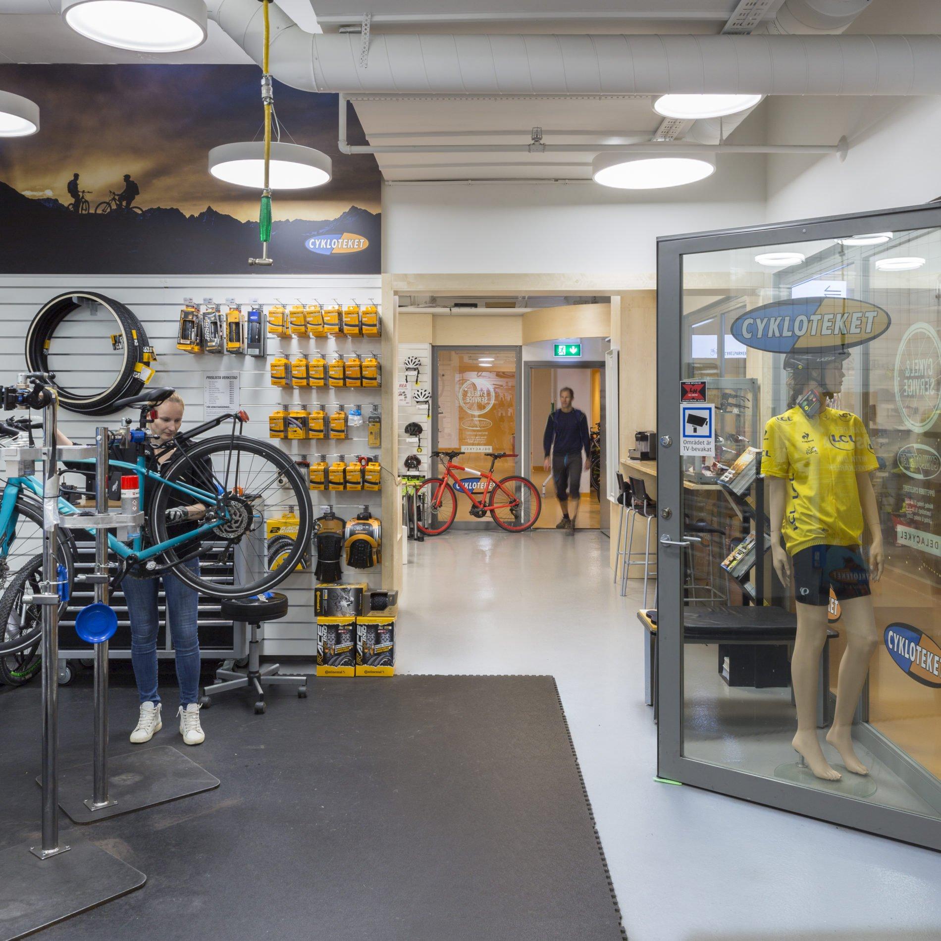Cykloteket Cykel & service Klara Zenit
