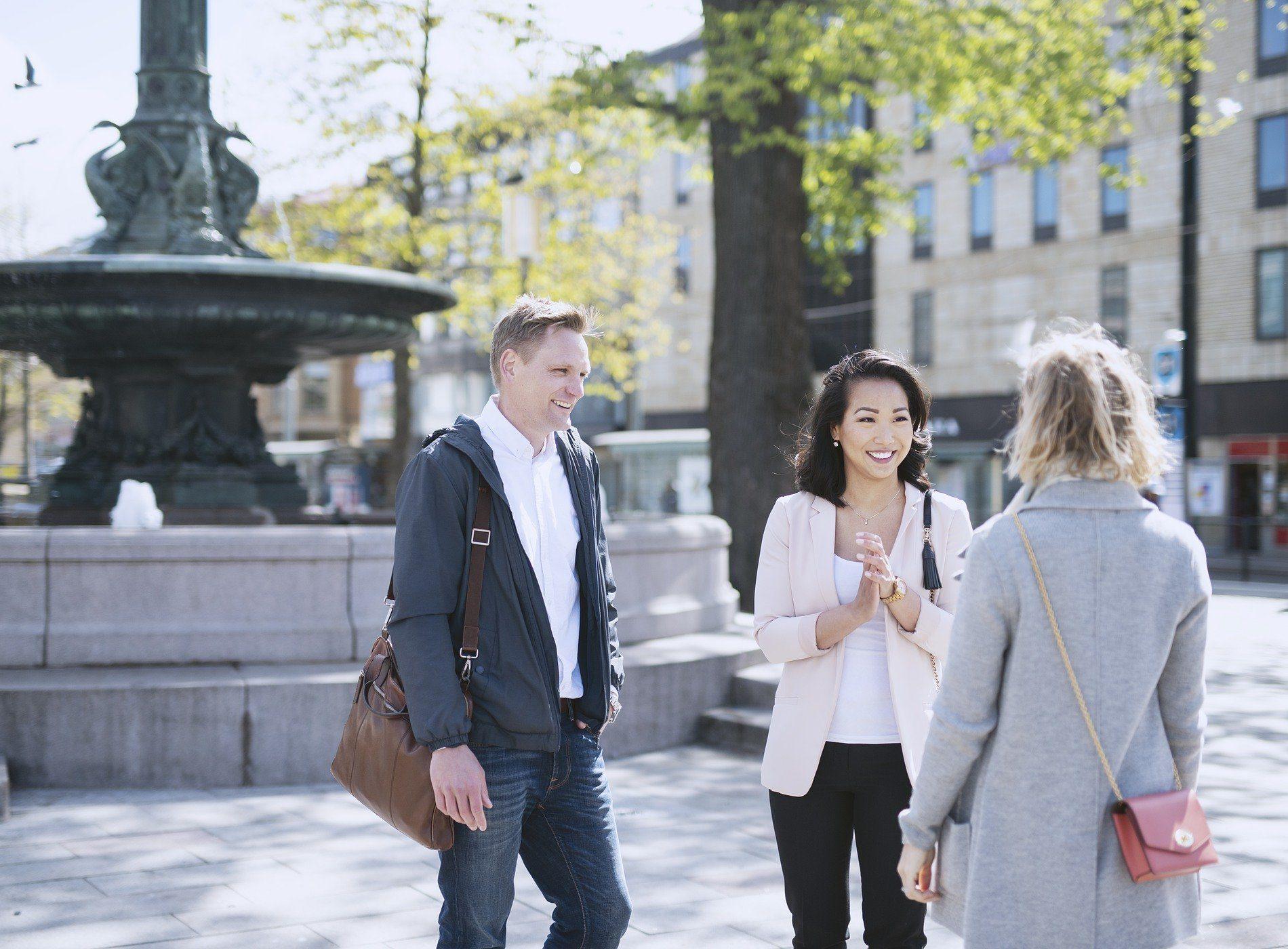 Stadsutveckling samarbete för ett attraktivare city.