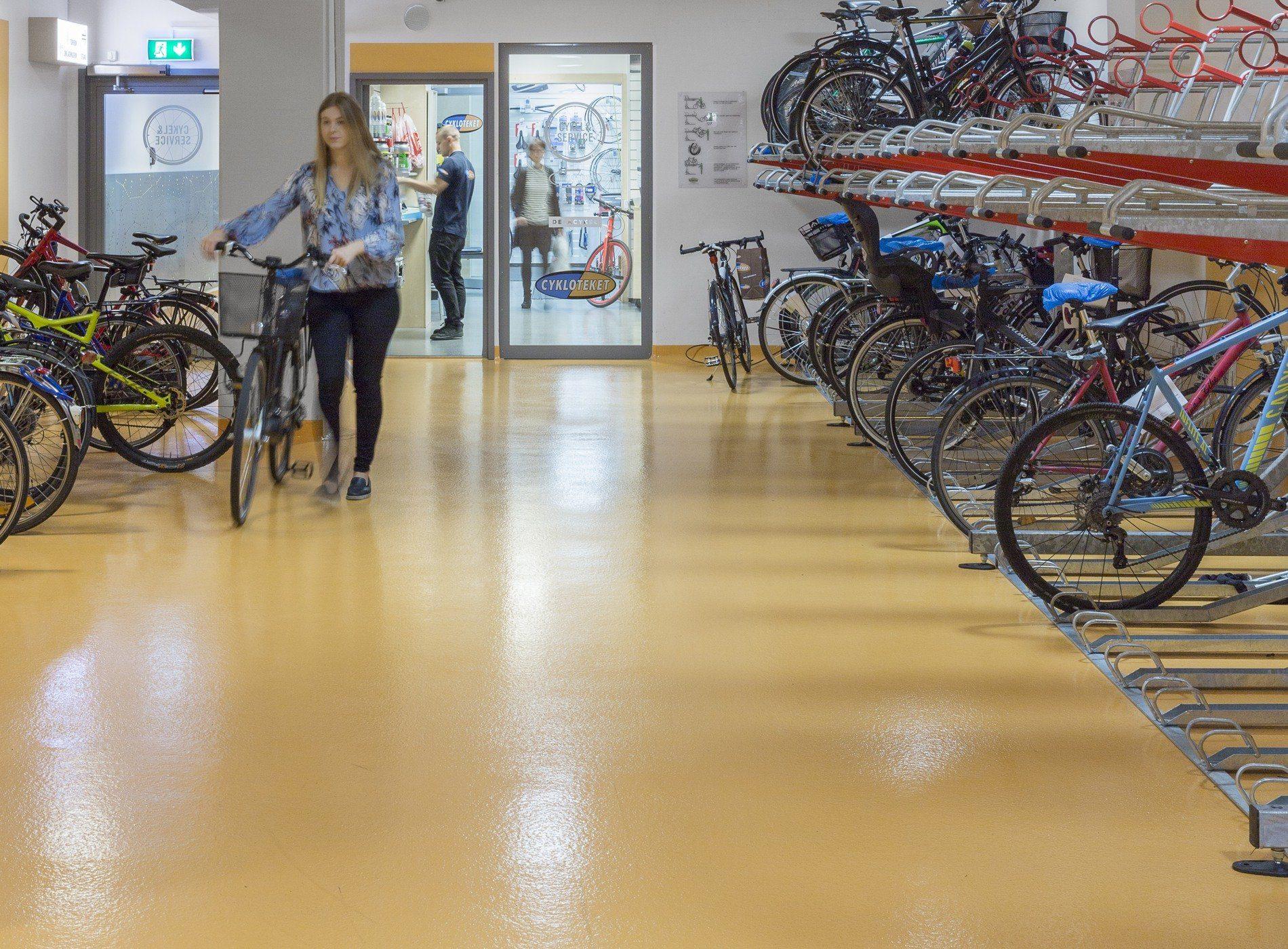 Cykelrum på Klara Zenit